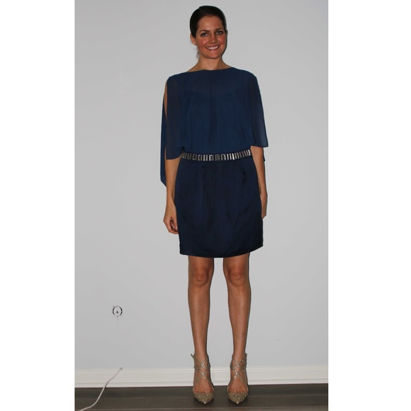 Laundry By Shelli Segal Dresses & Skirts - Navy Laundry Cocktail Dress